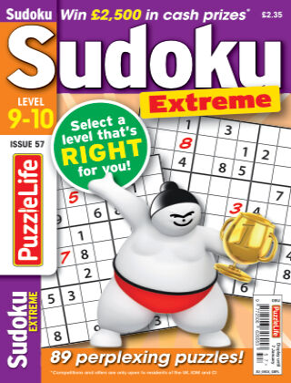 PuzzleLife Sudoku Extreme 9-10 Issue 057