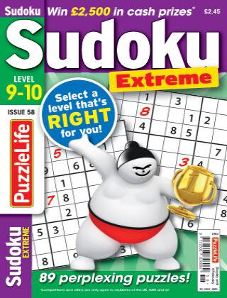 PuzzleLife Sudoku Extreme 9-10 Issue 058