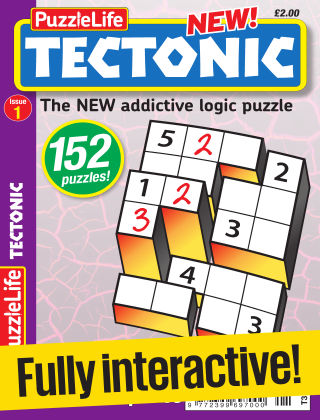 PuzzleLife Tectonic Issue 001