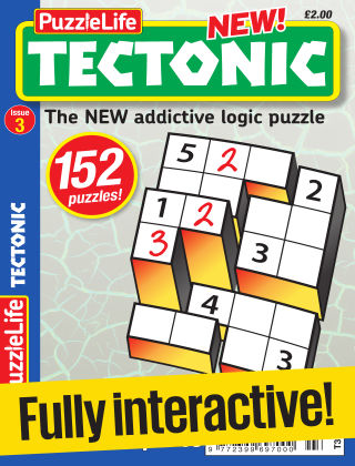 PuzzleLife Tectonic Issue 003