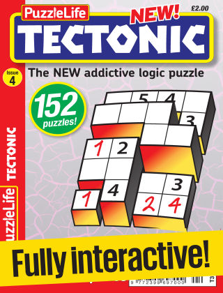 PuzzleLife Tectonic Issue 004