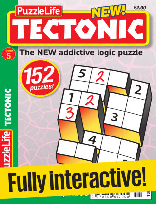 PuzzleLife Tectonic Issue 005