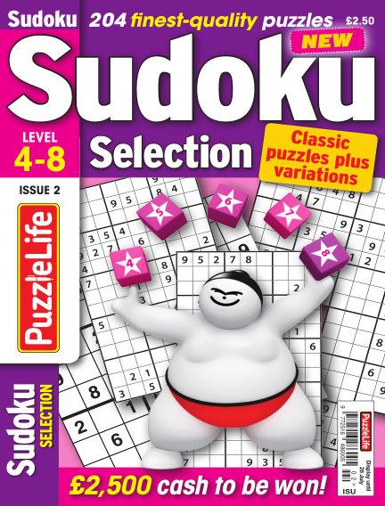 Sudoku Selection June 26, 2018 00:00
