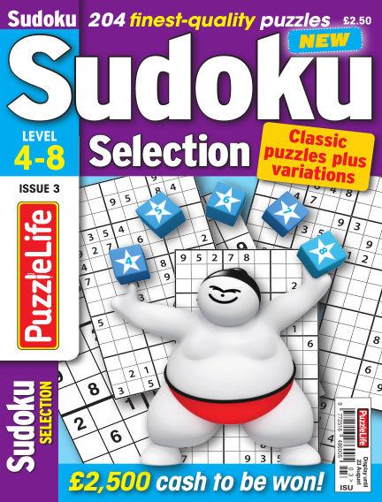 Sudoku Selection July 26, 2018 00:00