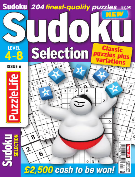 Sudoku Selection October 18, 2018 00:00