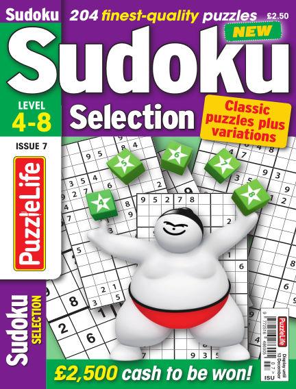 Sudoku Selection November 15, 2018 00:00