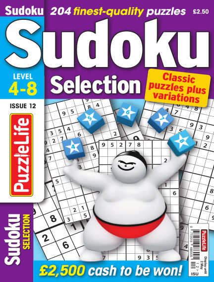 Sudoku Selection April 04, 2019 00:00