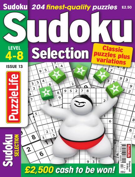 Sudoku Selection May 02, 2019 00:00