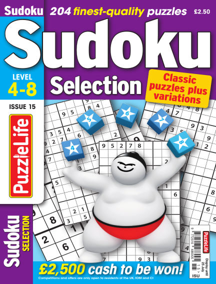 Sudoku Selection June 27, 2019 00:00