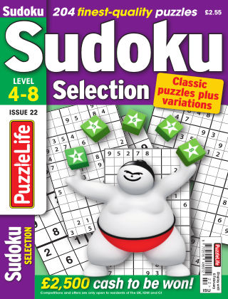 Sudoku Selection Issue 022