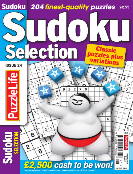 Sudoku Selection March 05, 2020 00:00