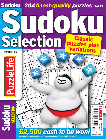 Sudoku Selection May 28, 2020 00:00