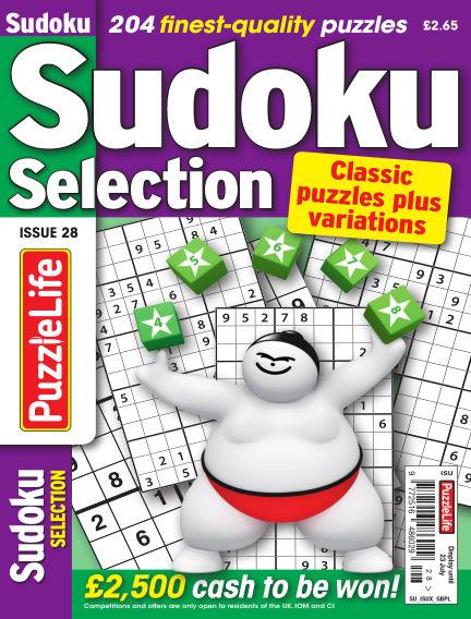 Sudoku Selection June 25, 2020 00:00