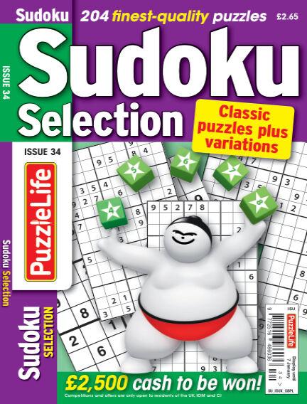 Sudoku Selection December 10, 2020 00:00