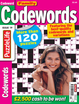 Family Codewords Issue 019