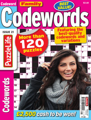 Family Codewords Issue 021