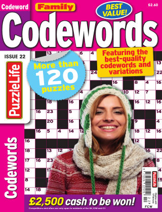 Family Codewords Issue 022