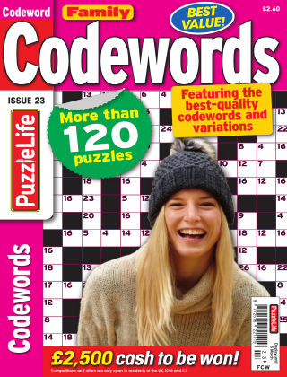 Family Codewords Issue 023