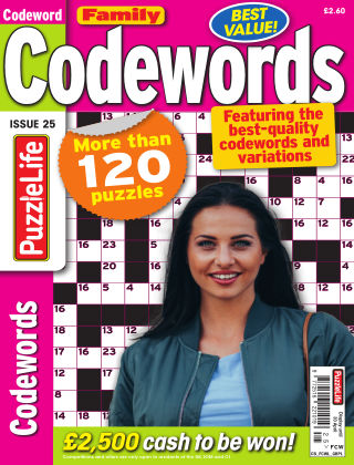 Family Codewords Issue 025