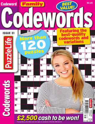 Family Codewords Issue 031