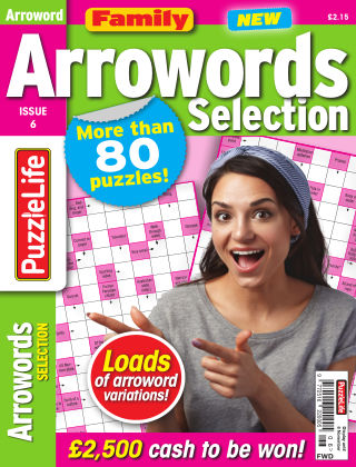 Family Arrowords Selection Issue 06