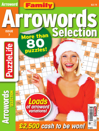 Family Arrowords Selection Issue 007