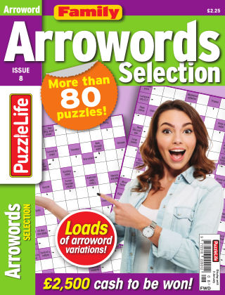 Family Arrowords Selection Issue 008