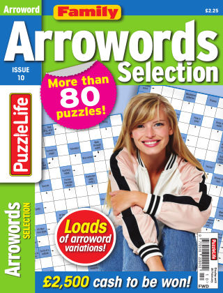 Family Arrowords Selection Issue 10