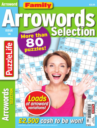Family Arrowords Selection Issue 014