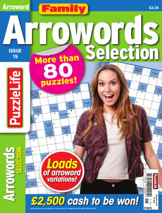 Family Arrowords Selection Issue 015
