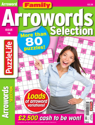 Family Arrowords Selection Issue 016