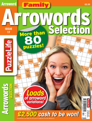 Family Arrowords Selection issue 017