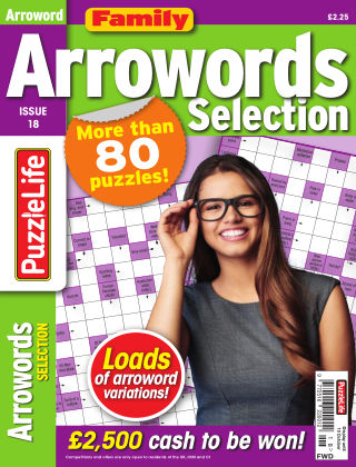 Family Arrowords Selection Issue 018