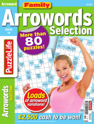 Family Arrowords Selection issue 019