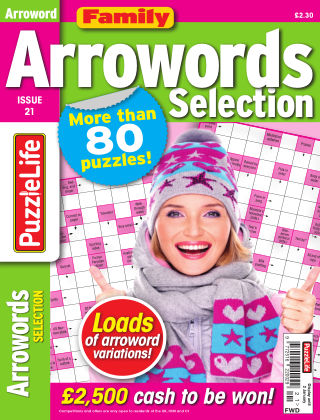 Family Arrowords Selection Issue 021