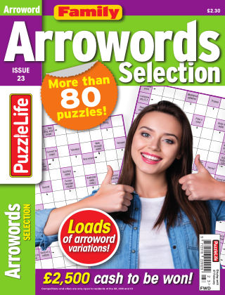 Family Arrowords Selection Issue 023