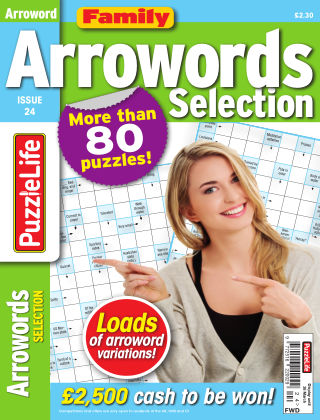 Family Arrowords Selection Issue 024