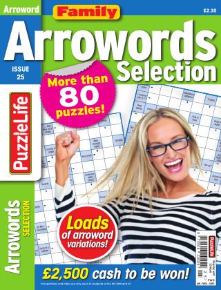 Family Arrowords Selection Issue 025