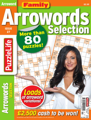 Family Arrowords Selection issue 027