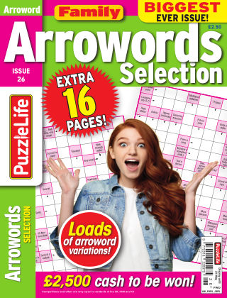 Family Arrowords Selection Issue 026