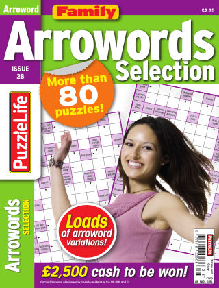 Family Arrowords Selection Issue 028