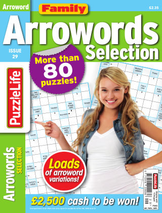 Family Arrowords Selection Issue 029