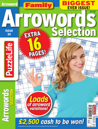 Family Arrowords Selection Issue 030