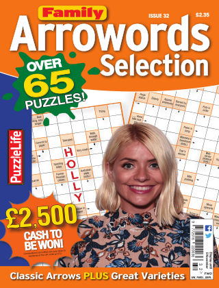 Family Arrowords Selection Issue 032
