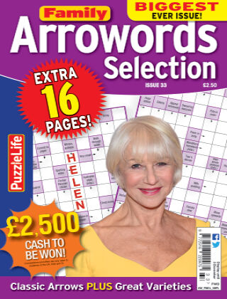 Family Arrowords Selection issue 033