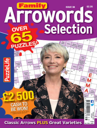 Family Arrowords Selection Issue 038