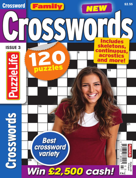 Family Crosswords July 19, 2018 00:00