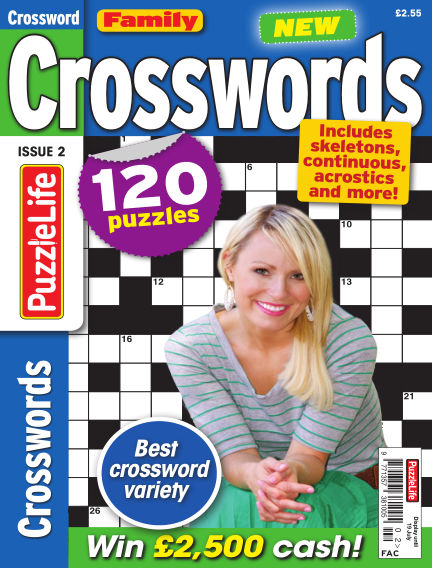 Family Crosswords June 21, 2018 00:00