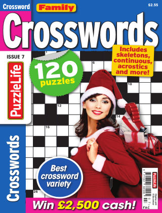 Family Crosswords Issue 007