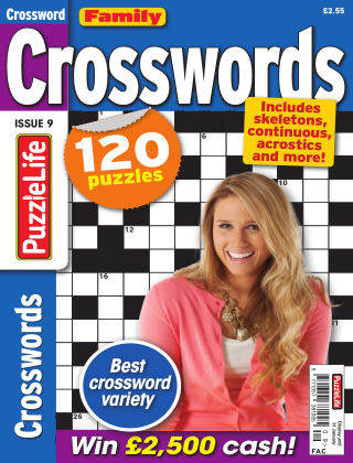 Family Crosswords Issue 009